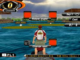 Sega Bass Fishing Challenge - MAME machine