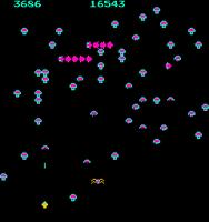 Centipede (revision 4) - MAME machine