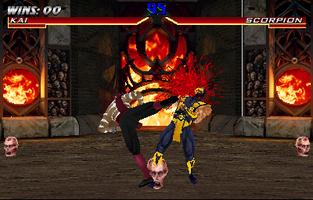 Mortal Kombat 4 (version 3 0) - MAME machine