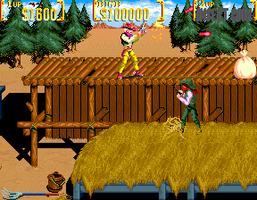 Sunset Riders (2 Players ver EBC) - MAME machine