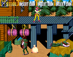Sunset Riders (4 Players ver EAC) - MAME machine