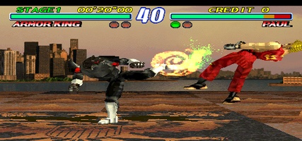Tekken 2 Ver B World Tes2 Ver B Mame Machine