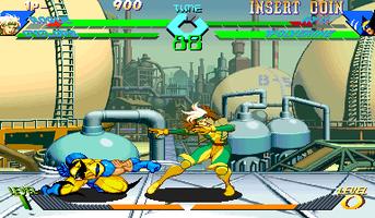 X-Men Vs  Street Fighter (Euro 961004) - MAME machine